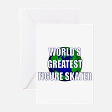 World's Greatest Figure Skate Greeting Cards (Pk o