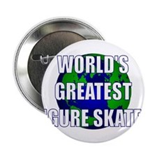 "World's Greatest Figure Skate 2.25"" Button"