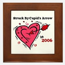 Struck By Cupid's Arrow 1 (2006) Framed Tile