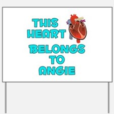 This Heart: Angie (B) Yard Sign
