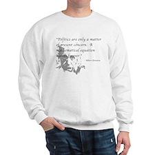 Math vs. Politics Sweatshirt