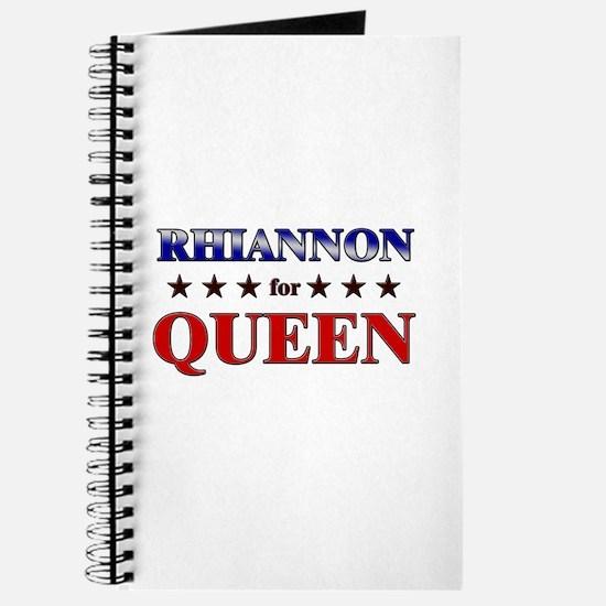 RHIANNON for queen Journal