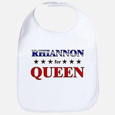 RHIANNON for queen Bib