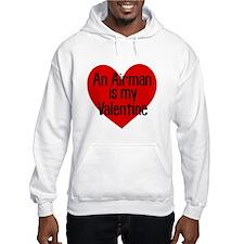 Airman Valentine Red Hoodie