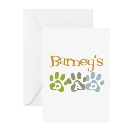 Barney's Dad Greeting Cards (Pk of 10)