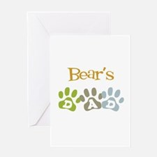 Bear's Dad Greeting Card