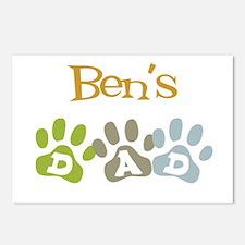 Ben's Dad Postcards (Package of 8)