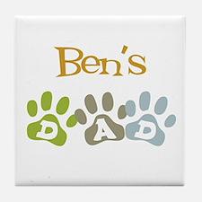 Ben's Dad Tile Coaster