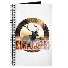 Elkaholic elk pride gifts Journal
