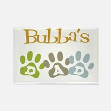 Bubba's Dad Rectangle Magnet