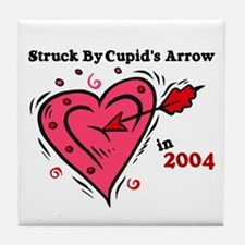 Struck By Cupid's Arrow 1 (2004) Tile Coaster