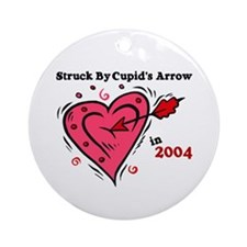 Struck By Cupid's Arrow 1 (2004) Ornament (Round)