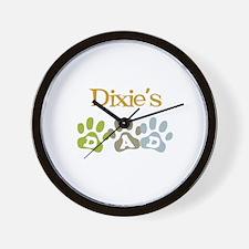 Dixie's Dad Wall Clock