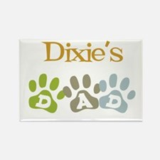 Dixie's Dad Rectangle Magnet
