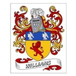 Williams Coat of Arms (Boston Small Poster