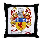 Williams Coat of Arms (Boston Throw Pillow