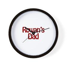 Rowan's Dad Wall Clock