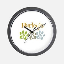 Harley's Dad Wall Clock