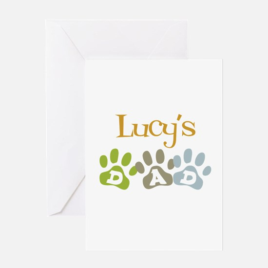 Lucy's Dad Greeting Card