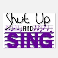 Shut Up and Sing Postcards (Package of 8)
