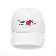 Struck By Cupid's Arrow 1 (2003) Baseball Cap