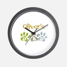 Oliver's Dad Wall Clock