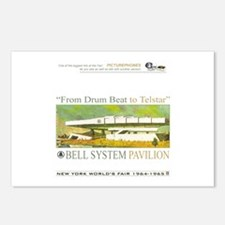 Bell System Pavilion Postcards (Package of 8)