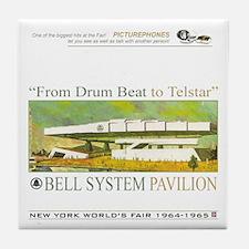 Bell System Pavilion Tile Coaster