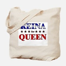 REINA for queen Tote Bag
