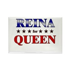 REINA for queen Rectangle Magnet