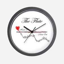 'The Flute' Wall Clock