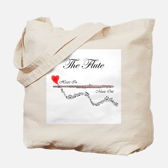 'The Flute' Tote Bag