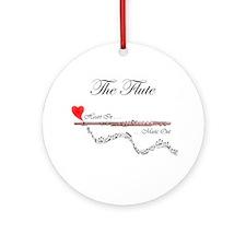 'The Flute' Ornament (Round)