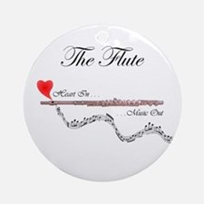 'The Flute' Ornament (Round)