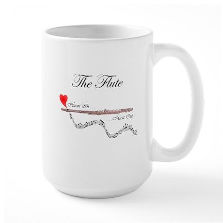 'The Flute' Large Mug