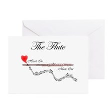 'The Flute' Greeting Cards (Pk of 10)
