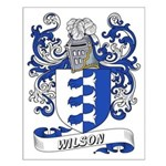 Wilson Coat of Arms Small Poster