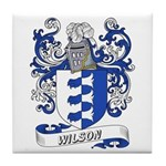 Wilson Coat of Arms Tile Coaster