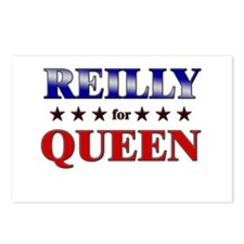 REILLY for queen Postcards (Package of 8)