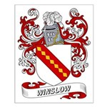 Winslow Coat of Arms Small Poster