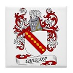 Winslow Coat of Arms Tile Coaster
