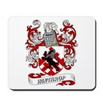 Winthrop Coat of Arms Mousepad