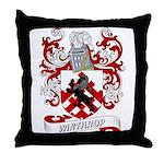 Winthrop Coat of Arms Throw Pillow