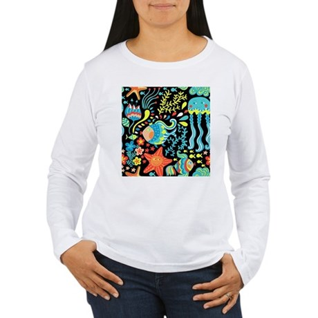 Sea Life Women's Long Sleeve T-Shirt