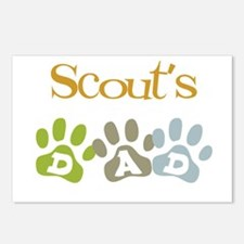 Scout's Dad Postcards (Package of 8)