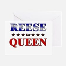REESE for queen Greeting Card
