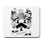 Wolcott Coat of Arms Mousepad