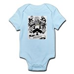 Wolcott Coat of Arms Infant Creeper