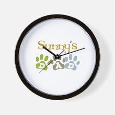 Sunny's Dad Wall Clock
