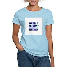 World's Gretest Fireman T-Shirt